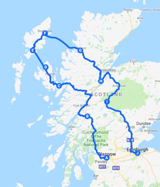Scotland Road Trip v2